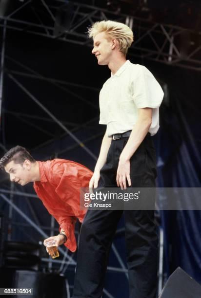 Depeche Mode Dave Gahan Martin Gore Rock Werchter Festival Werchter Belgium 1985