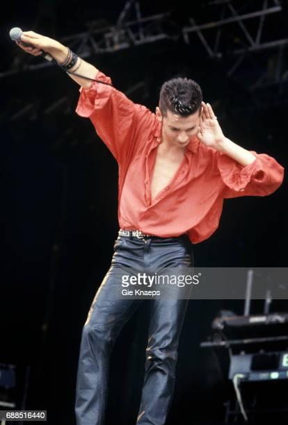 Depeche Mode Dave Gahan Rock Werchter Festival Werchter Belgium 1985