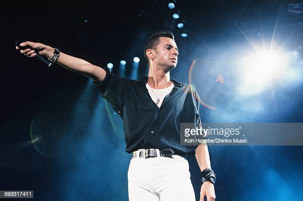 Depeche Mode David Gahan live at Nippon Budokan Tokyo September 11 1990