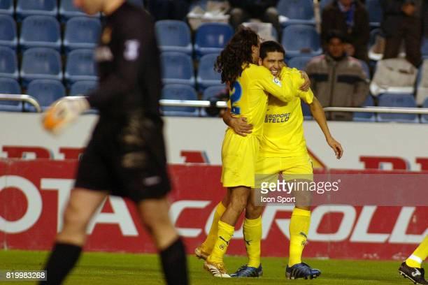 RIQUELME / SORIN Deportivo la Corogne / Villarreal 13eme Journee de Liga