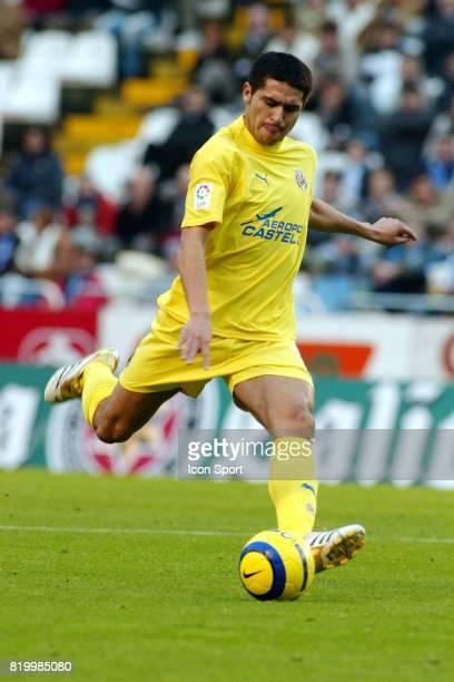RIQUELME Deportivo la Corogne / Villarreal 13eme Journee de Liga
