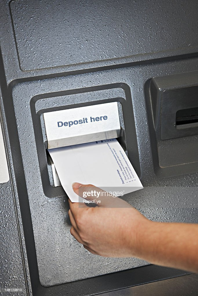Depositing in the ATM
