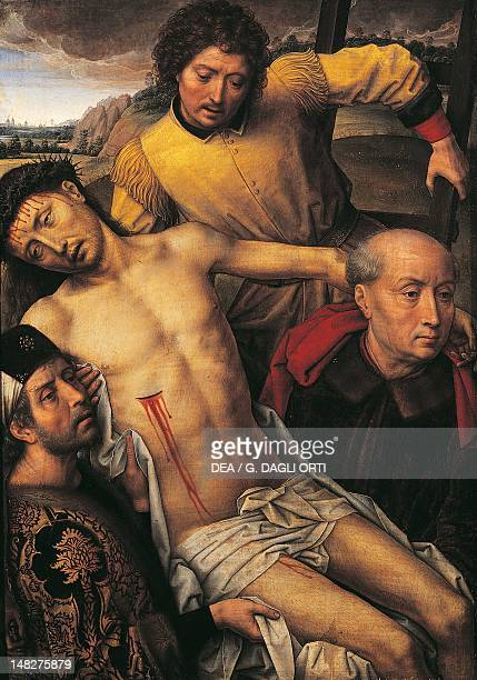 Deposition from the cross by Hans Memling Royal Chapel of the cathedral Granada Spain