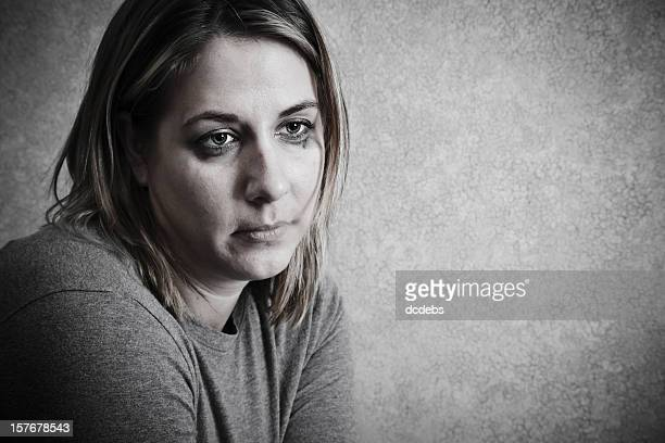 Depressed and Unhappy Woman