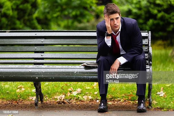 Depressed Businessman