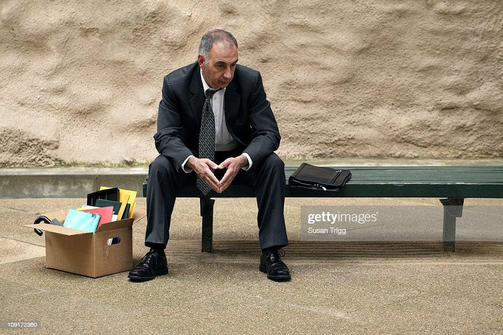 Depressed retrenched manager