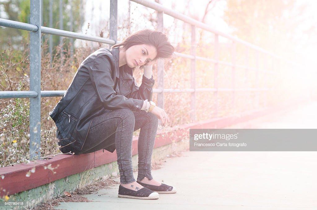Depressed teenage