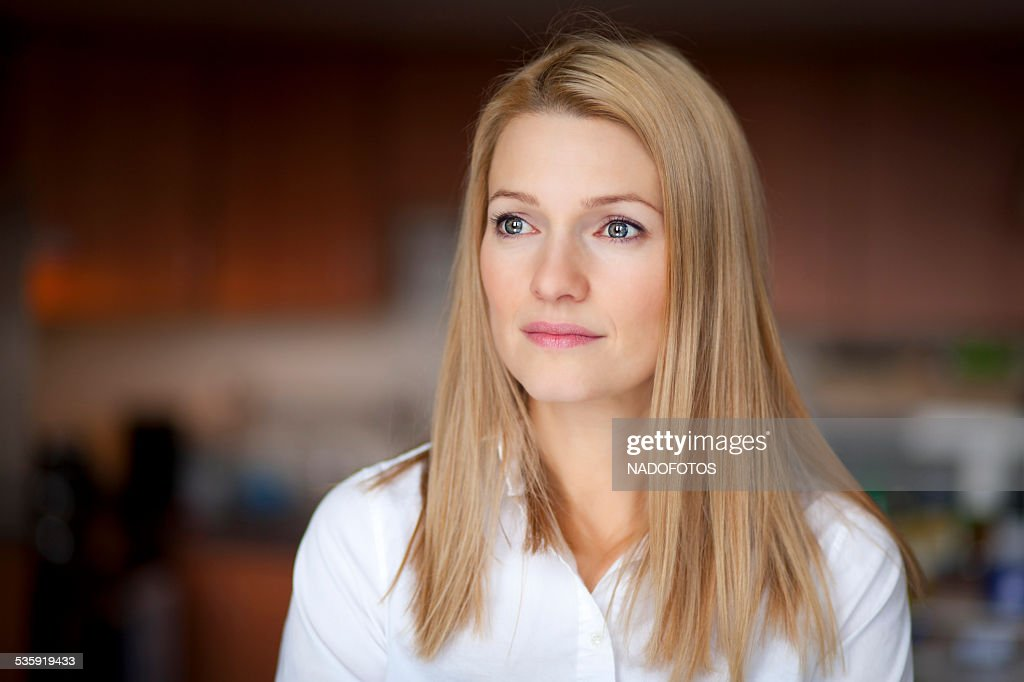 Depression Of A Woman : Stock Photo
