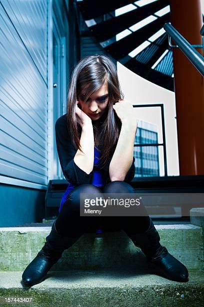 Depression - Sad young woman