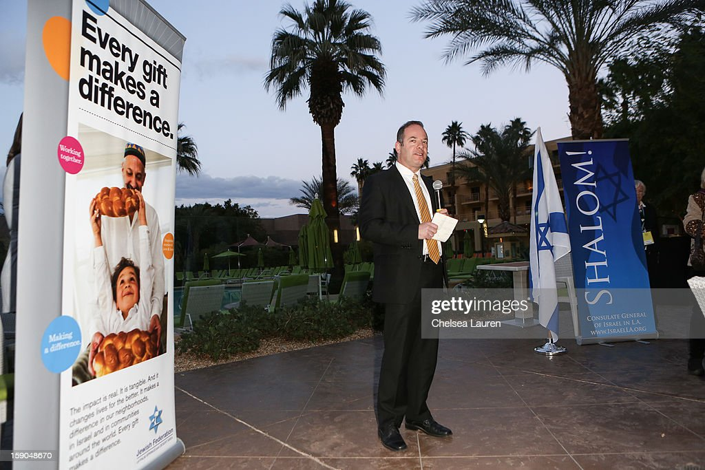 Deputy consul general of Israel Uri Resnick attends the Israeli reception at the Palm Springs International Film Festival on January 6, 2013 in Palm Springs, California.