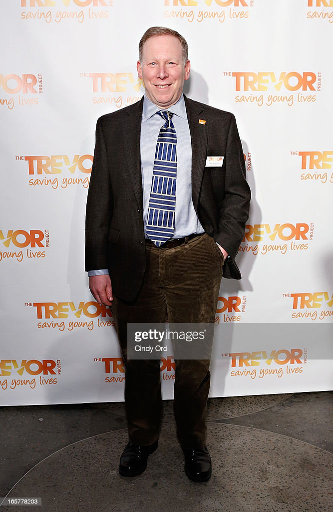 Deputy Director of The Trevor Project, Steve Mendelsohn attends Trevor NextGen 4th Annual Spring Fling at Maritime Hotel on April 5, 2013 in New York, United States.
