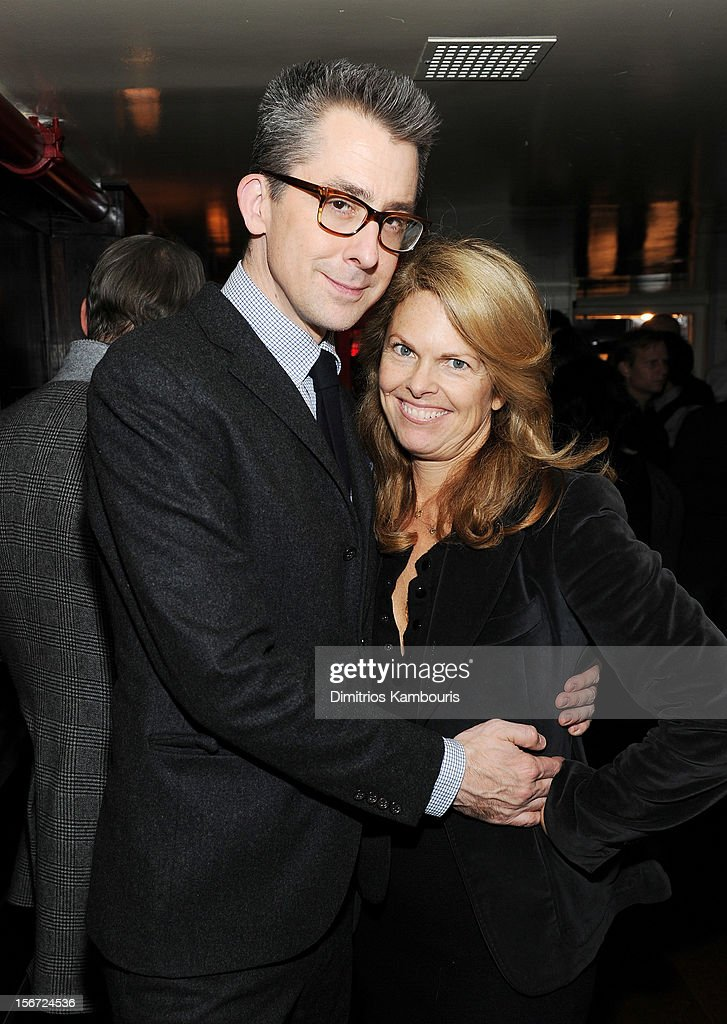 GQ Deputy Editor Michael Hainey and GQ Fashion Director Madeline Weeks attend GQ's The Style Guy party at The Beatrice Inn on November 19, 2012 in New York City.