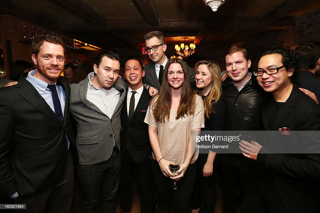 GQ Deputy Editor/author Michael Hainey and guests attend the GQ 'After Visiting Friends' book party on February 21, 2013 in New York City.