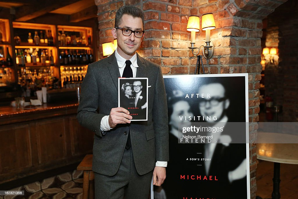 GQ Deputy Editor/author Michael Hainey attends the GQ 'After Visiting Friends' book party on February 21, 2013 in New York City.