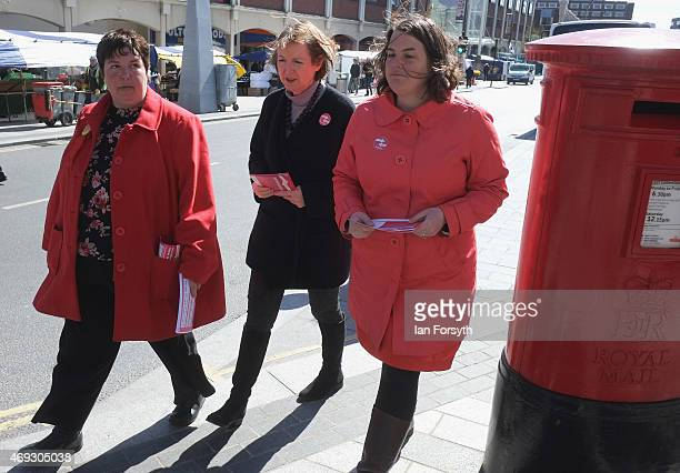 Deputy Leader of the Labour Party and Shadow Deputy Prime Minister Harriet Harman joins Labour Parliamentary candidate for Stockton South Louise...