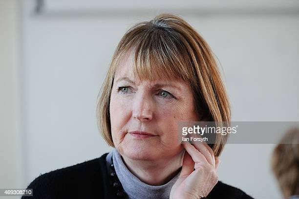 Deputy Leader of the Labour Party and Shadow Deputy Prime Minister Harriet Harman visits Grangefield Youth and Community Centre to meet with women...