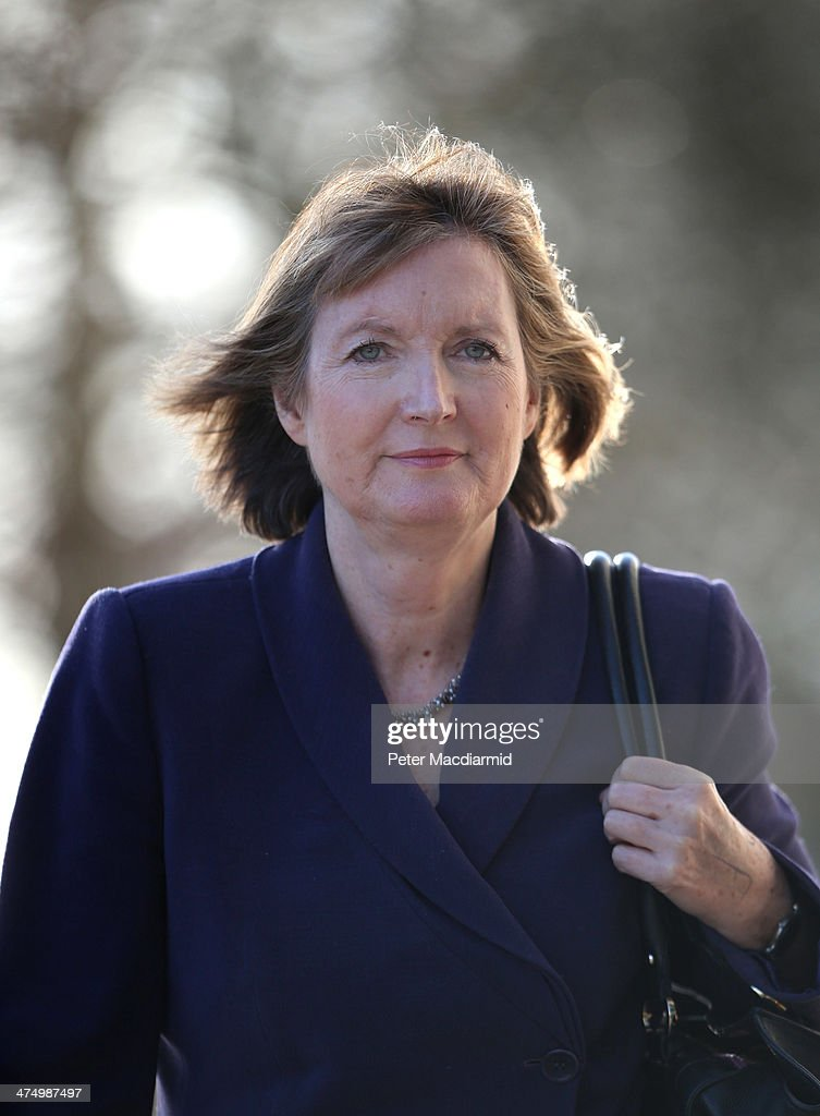 Deputy Leader of the Labour Party <a gi-track='captionPersonalityLinkClicked' href=/galleries/search?phrase=Harriet+Harman&family=editorial&specificpeople=839866 ng-click='$event.stopPropagation()'>Harriet Harman</a> arrives at the Oxford Media Convention on February 26, 2014 in Oxford, England. Ms Harman has expressed regrets that a civil liberties group she and her husband Jack Dromey MP worked for in the 1970s had links with a pro-paedophile campaigning group.