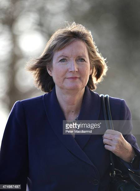 Deputy Leader of the Labour Party Harriet Harman arrives at the Oxford Media Convention on February 26 2014 in Oxford England Ms Harman has expressed...