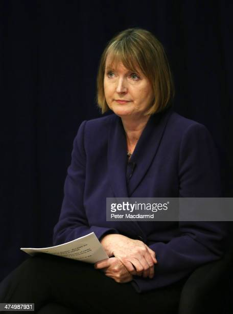 Deputy Leader of the Labour Party Harriet Harman speaks at the Oxford Media Convention on February 26 2014 in Oxford England Ms Harman has expressed...