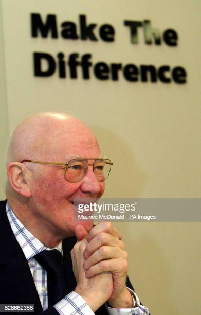 Deputy leader of the Scottish Liberal Democrats Menzies Campbell at a news conference in Edinburgh where the party pledged to create thousands of...
