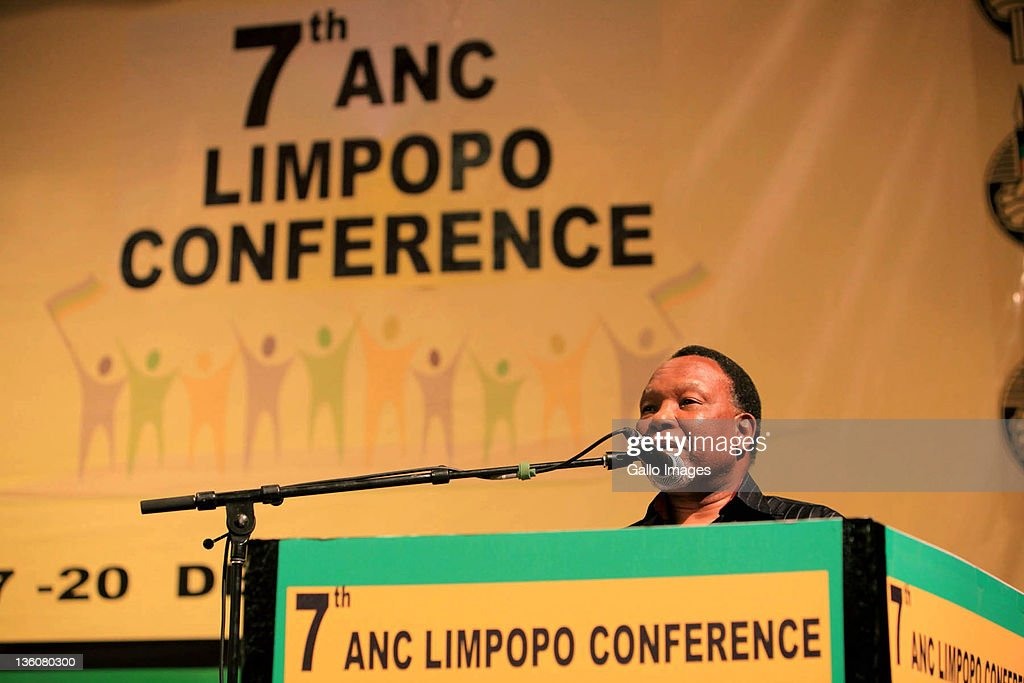 Deputy President Kgalema Motlanthe speaks during the 7th ANC Limpopo Provincial Conference at the Turfloop, University of Limpopo on December 17, 2011 in Limpopo, South Africa.