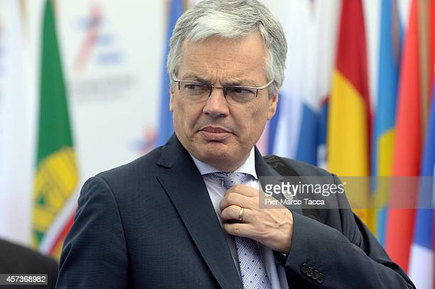Deputy Prime Minister and Minister of Finance of Belgium Didier Reynders during the10 ASEM Summit with 50 Heads Of State From Europe And Asia on...