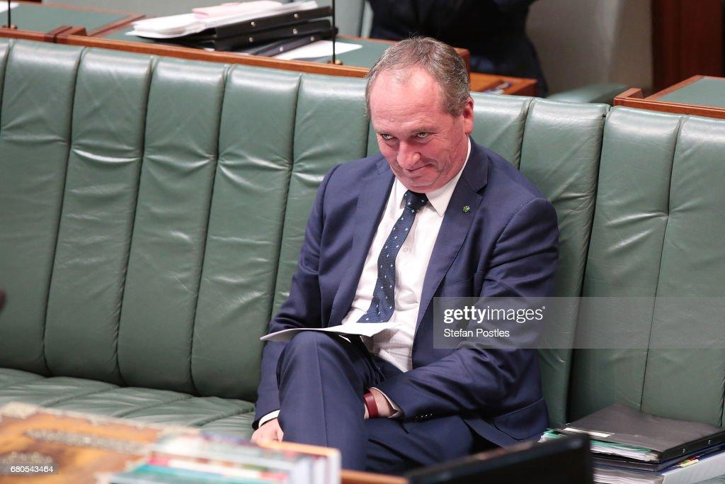 Scott Morrison Press Conference before Delivering Australian Federal Budget In Canberra