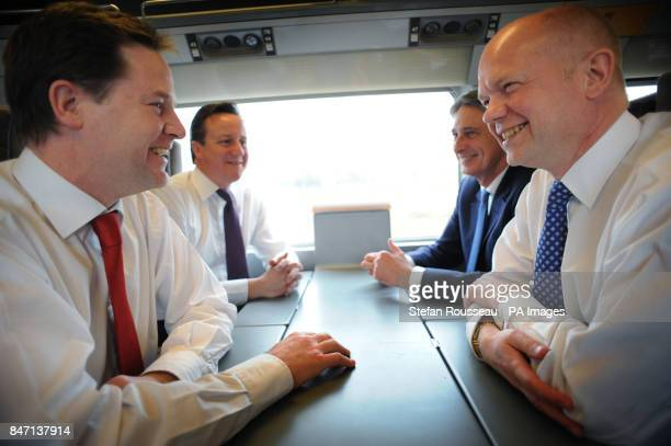 Deputy Prime Minister Nick Clegg Prime Minister David Cameron Defence Secretary Philip Hammond and Foreign Secretary William Hague travel to Paris...