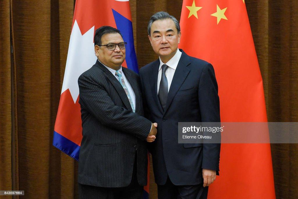 Deputy Prime Minister Of Nepal Krishna Bahadur Mahara Visits China