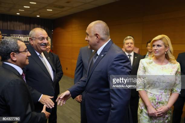 Deputy Prime Minister of Turkey Tugrul Turkes meets with Prime Minister of Bulgaria Boyko Borisov and President of Croatia Kolinda GrabarKitarovic...