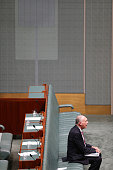 Deputy Prime Minister Warren Truss during House of Representatives question time at Parliament House on February 10 2015 in Canberra Australia A...