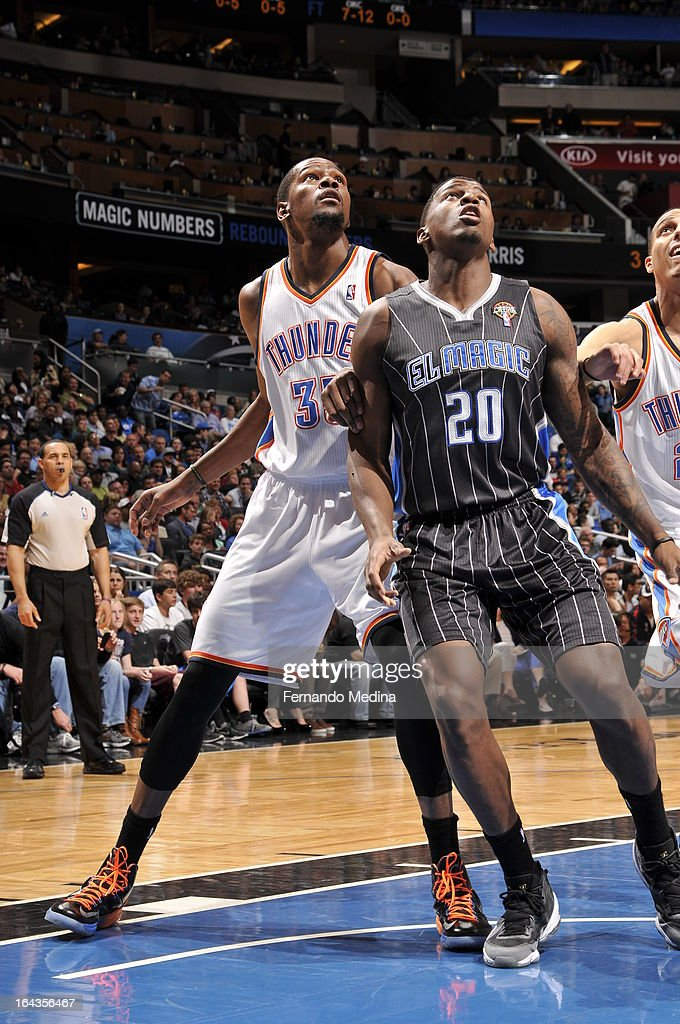 Oklahoma City Thunder v Orlando Magic
