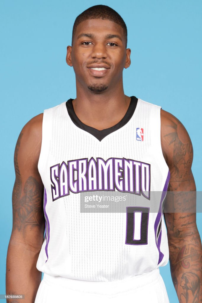 <a gi-track='captionPersonalityLinkClicked' href=/galleries/search?phrase=DeQuan+Jones&family=editorial&specificpeople=5626127 ng-click='$event.stopPropagation()'>DeQuan Jones</a> #0 of the Sacramento Kings poses for a photo on media day September 30, 2013 at the Kings practice facility in Sacramento, California.