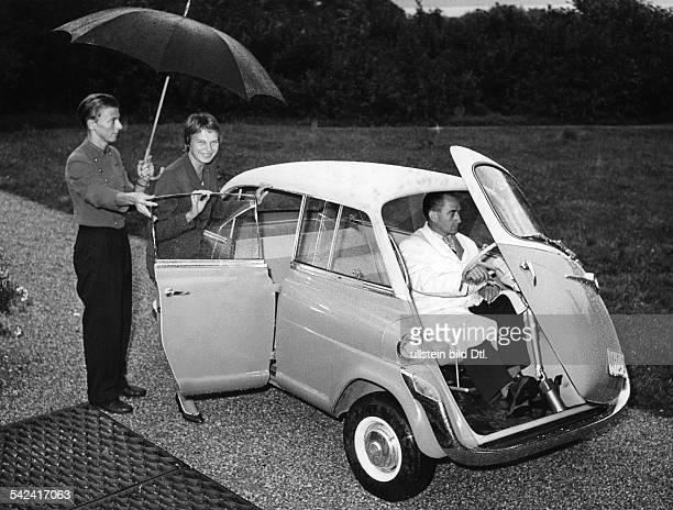 der 600ccmKleinwagen für 4 personeneine Weiterentwicklung der BMWIsetta1957