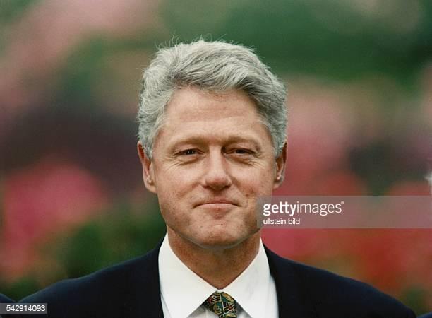 Der amerikanische Präsident Bill Clinton