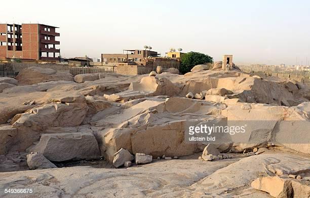 Der antike Rosengranitsteinbruch in Assuan