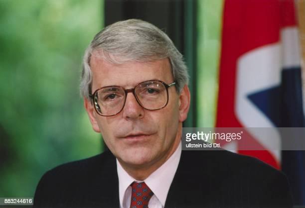 Der britische Premierminister John Major bei einem Besuch in Bonn am 2651995