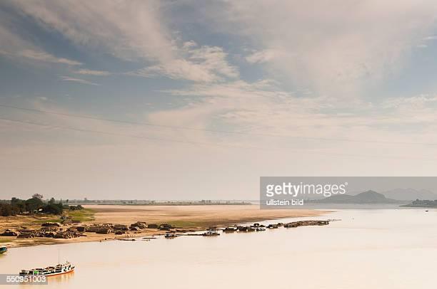 Der Chindwin Fluss bei Monywa