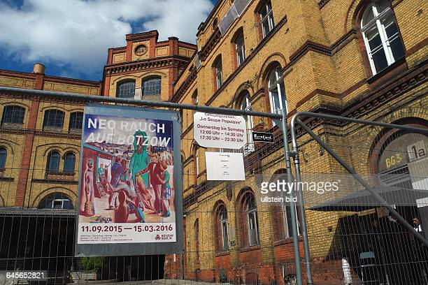 Der erfolgreiche Maler Neo Rauch eroeffnet morgen seine Ausstellungin der historischen Boetzow Brauerei an der Prenzlauer Allee