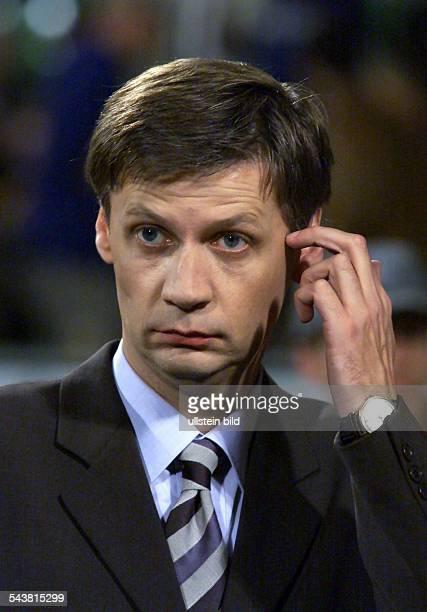 Der Fernsehmoderator Günther Jauch Verwendung ausschließlich zu journalistischen Zwecken