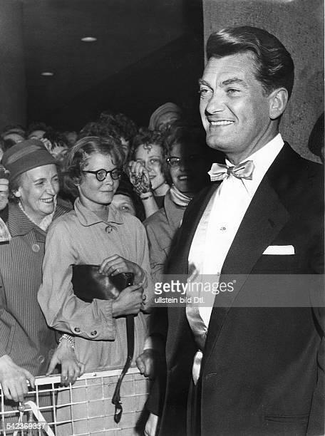 Der französische Schauspieler Jean Marais 1958