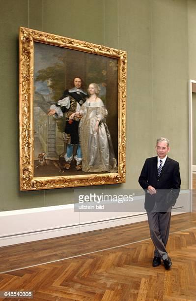 LINDEMANN BERND WOLFGANG LINDEMANN GENERALDIREKTOR der Gemäldegalerie Berlin Gemäldesammlungen PREUSSISCHER KULTURBESITZ