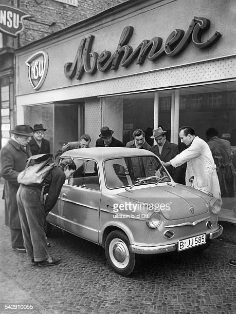 Der neue Kleinwagen der NSUWerke der NSUPrinz II 1958