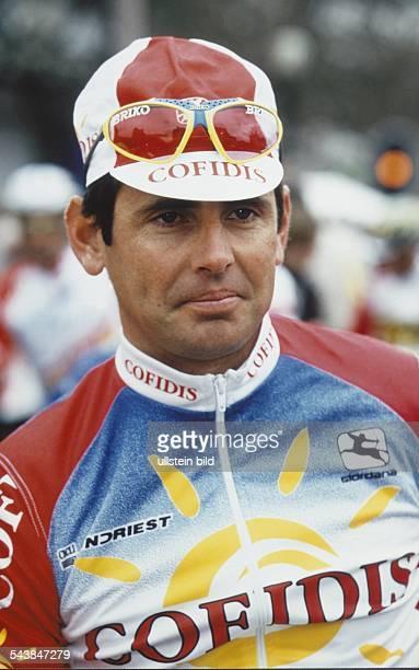 Der Radrennfahrer Tony Rominger aus der Schweiz Aufgenommen um 1997