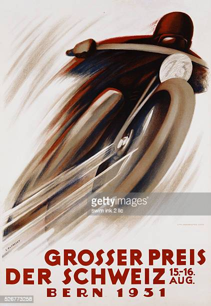 Der Schweiz Poster by E Ruprecht
