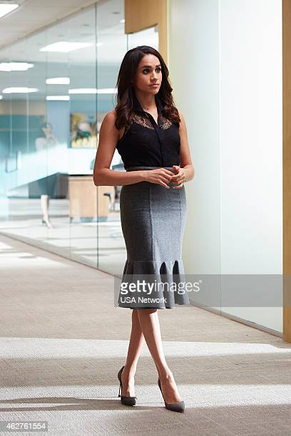 SUITS 'Derailed' Episode 414 Pictured Meghan Markle as Rachel Zane