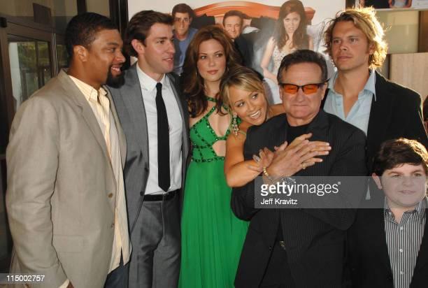 DeRay Davis John Krasinski Mandy Moore Christine Taylor Robin Williams Eric Christian Olsen and Josh Flitter