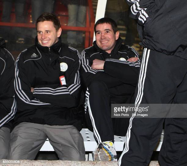 Derby County's Manager Nigel Clough before the FA Cup Fourth Round Replay at the City Ground Nottingham