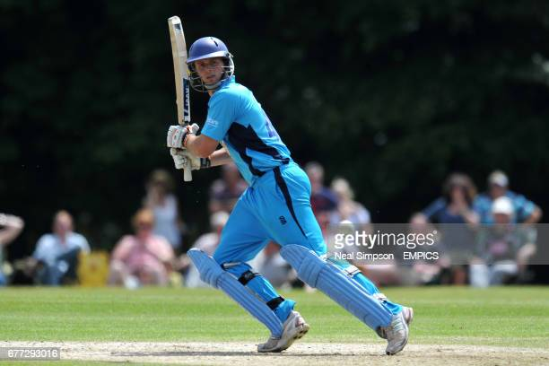 Derbyshire Falcons' Ross Whiteley in batting action