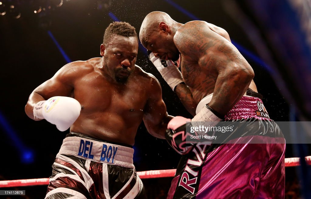 Dereck Chisora v Malik Scott - Heavyweight Fight